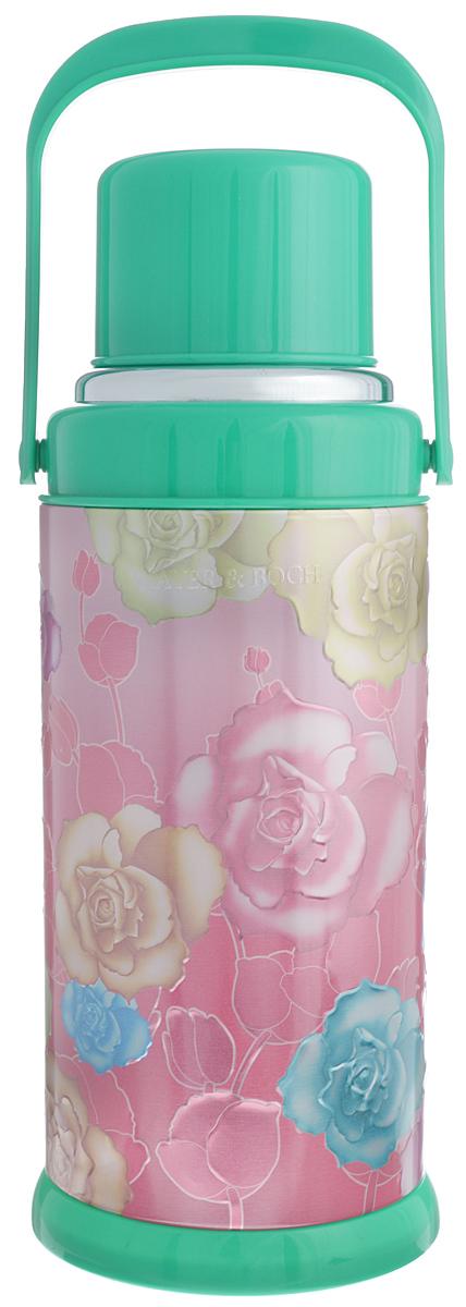 Термос Mayer & Boch, цвет: зеленый, розовый, 3,2 л21870_зеленыйТермос Mayer & Boch изготовлен из алюминия и пластика и снабжен ручкой. Стеклянная изоляционная колба поможет сохранить необходимую температуру напитков. Сверху имеет съемную чашу. Отлично подходит для использования дома, в школе, на природе, в походах и так далее. Высота термоса: 43 см. Диаметр основания термоса: 17 см. Диаметр горлышка термоса: 3 см. Высота кружки: 8. Диаметр кружки: 11 см. Объем термоса: 3,2 л.