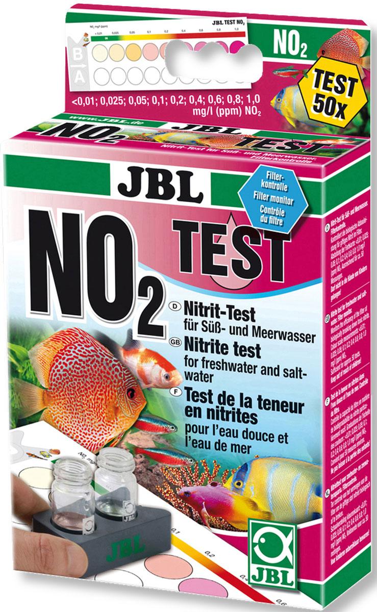 Тест JBL Nitrit Test-Set NO2 для определения содержания нитритов в пресной и морской воде на 50 измеренийJBL2537000JBL Nitrit Test-Set NO2 - Тест для определения содержания нитритов в пресной и морской воде на 50 измерений