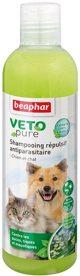 Шампунь для собак и кошек Beaphar Bio Shampoo, от блох, 250 мл36581/02200/15711Натуральный шампунь Beaphar Bio Shampoo предназначен для собак и кошек, инфицированных наружными паразитами. Содержит масло маргозы, цитронеллы и лаванды, которые обладают инсектицидными свойствами и благотворно влияют на кожу. После нанесения шампуня, масла распространяются по коже и шерсти животного. Начинает действовать сразу после нанесения, отпугивает паразитов, очищает шерсть и кожу, уменьшает зуд. Способ применения: смочите шерсть животного теплой водой и нанесите шампунь, мягко массируя, чтобы он вспенился. Оставьте на 2-3 минуты и тщательно смойте. Не имеет противопоказаний. После избавления животного от паразитов, используйте капли или ошейники от блох Beaphar, чтобы защитить его от повторного нападения. Состав: вода, sodium lauryleth-2 sulphate, sodium chloride, PEG-4 rapeseedamide, sodium laureth-11 carboxylate, масло мангозы (0,4%), cocoamide DEA, glycol distearate, lauryl-2-hydroxypropyl-trimethyl-ammoniumchloride, 1.2 propanediol, масло цитронеллы,...