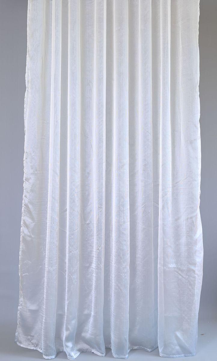 Тюль Garden, на ленте, цвет: серебристый, высота 260 см82049_ЛЕНТАТюль Garden изготовлен из 100% полиэстера. Воздушная ткань привлечет к себе внимание и идеально оформит интерьер любого помещения. Полиэстер - вид ткани, состоящий из полиэфирных волокон. Ткани из полиэстера легкие, прочные и износостойкие. Такие изделия не требуют специального ухода, не пылятся и почти не мнутся. Крепление к карнизу осуществляется при помощи вшитой шторной ленты.