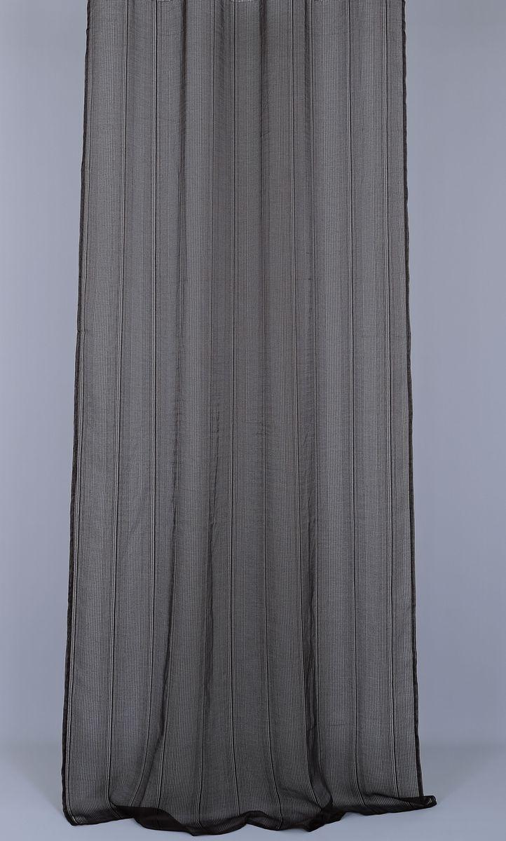 Штора Garden, на ленте, цвет: шоколад, высота 270 см. 5990459904_ЛЕНТАСветонепроницаемая штора Garden выполнена из 100% полиэстера. Степень устойчивости окраса: 3. Штора крепится на карниз при помощи ленты, которая поможет красиво и равномерно задрапировать верх.