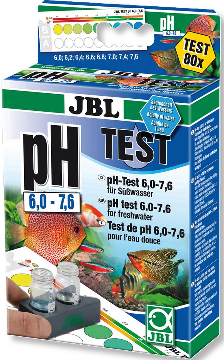 Комплект JBL pH Test-Set для контроля значения рН в пресной и морской воде от 6 до 7,6 единиц, 80 измеренийJBL2534600JBL pH Test-Set 6,0-7,6 - Комплект для простого быстрого контроля значения рН в пресной и морской воде в диапазоне от 6 до 7,6 единиц на 80 измерений.