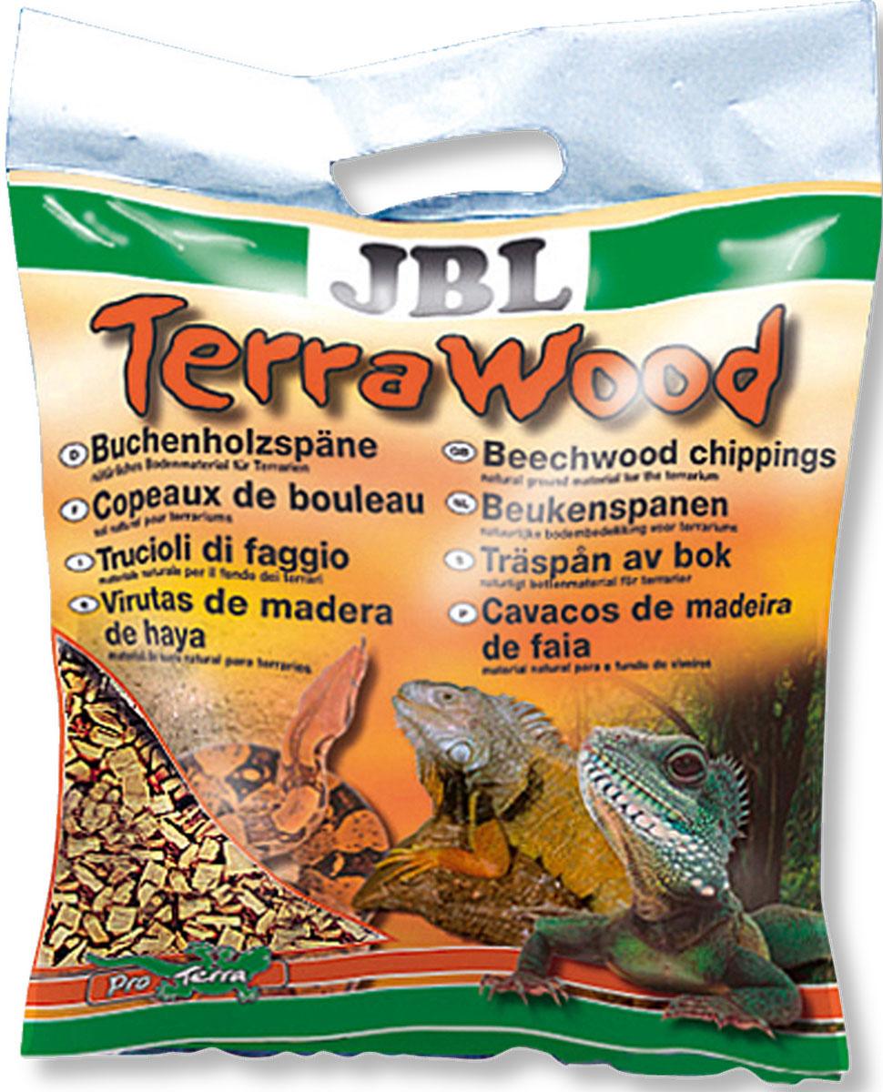 Буковая щепа JBL TerraWood, натуральный донный субстрат для сухих и полусухих террариумов, 20 лJBL7100600JBL TerraWood - Буковая щепа, натуральный донный субстрат для сухих и полусухих террариумов, 20 л.