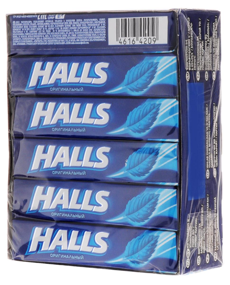 Halls карамель леденцовая оригинальный, 12 пачек по 25 г