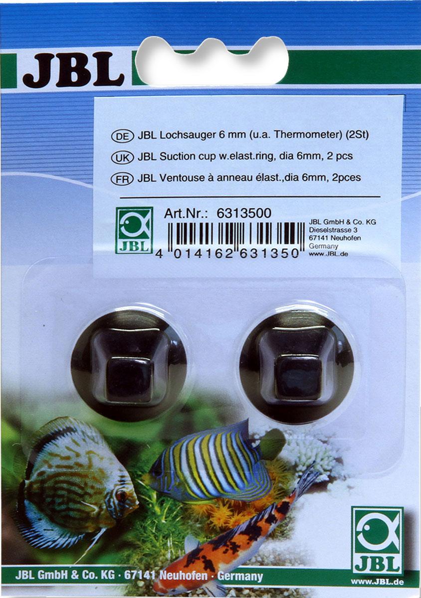 Присоска для термометров JBL LochSauger, 6 мм, 2 штJBL6313500JBL LochSauger 6mm - Присоска для термометра, 6 мм., 2 шт.