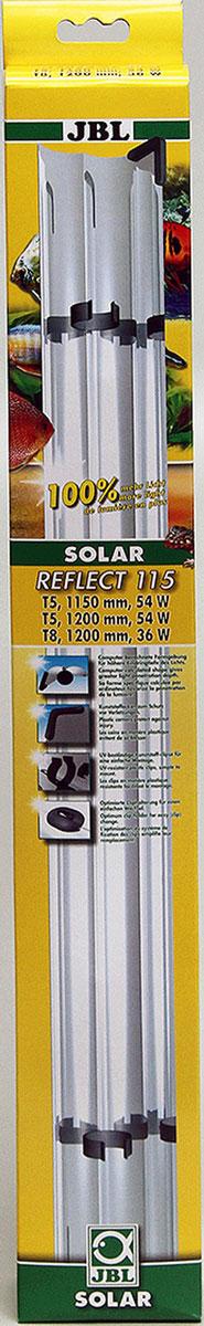Отражатель JBL SOLAR REFLECT, для Т8 ламп 36 Вт и Т5 54 Вт, длина 1150 мм, новая М-формаJBL6173400JBL SOLAR REFLECT - Отражатель для Т8 ламп 36 ватт и Т5 54 ватта, длина 1150 мм., новая М-форма
