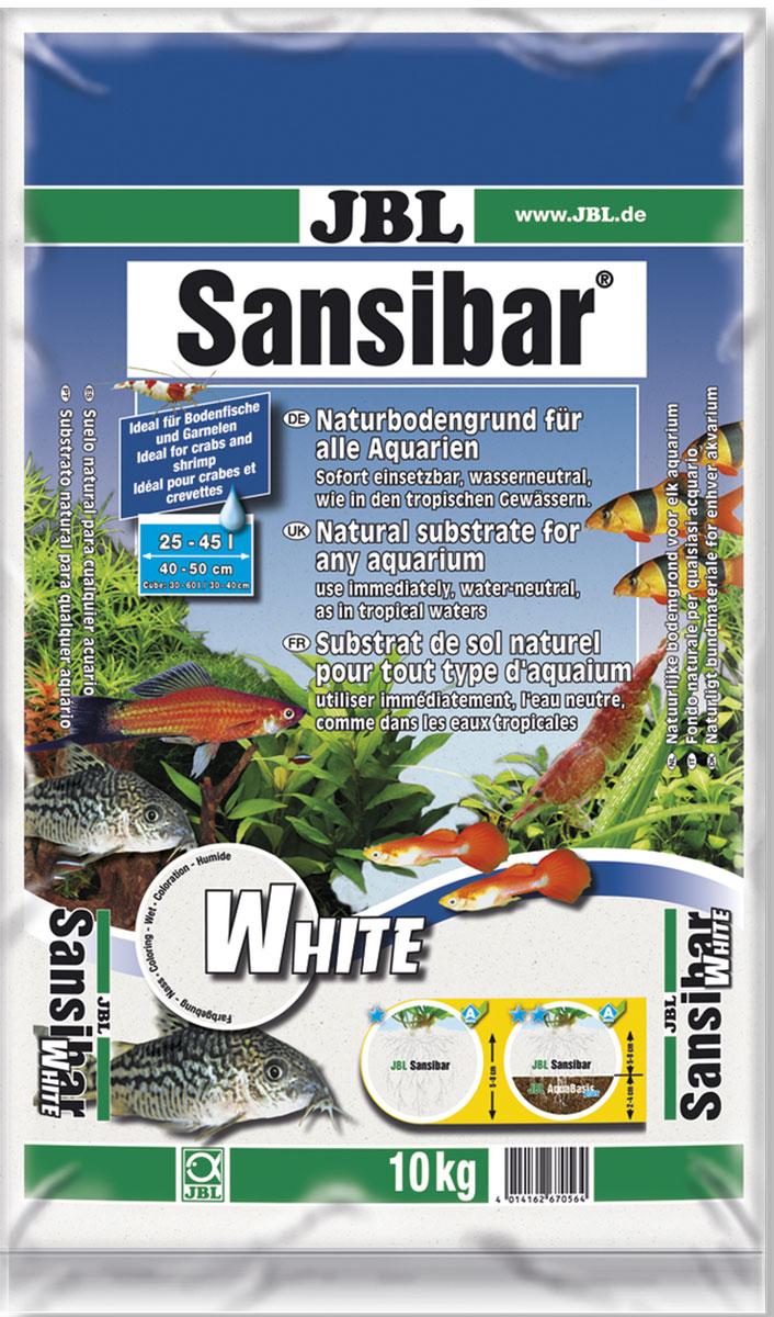Декоративный грунт для аквариума JBL Sansibar, белый, мелкий, 10 кгJBL6705600JBL Sansibar WHITE - Декоративный грунт для аквариума, белый, мелкий, 10 кг.