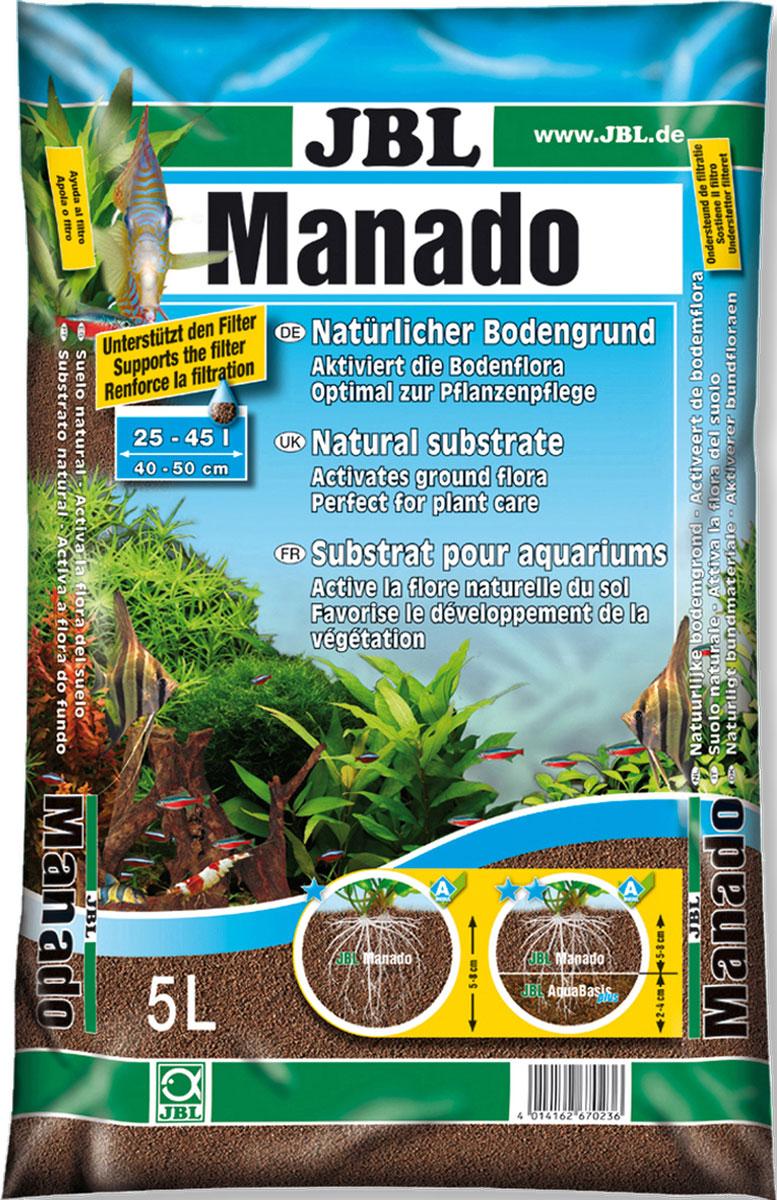 Питательный грунт JBL Manado, улучшающий качество воды и стимулирующий рост растений,цвет: красно-коричневый (латеритной почвы), 5 лJBL6702300JBL Manado 5l - Питательный грунт, улучшающий качество воды и стимулирующий рост растений, красно-коричневый (цвет латеритной почвы), 5 литров.