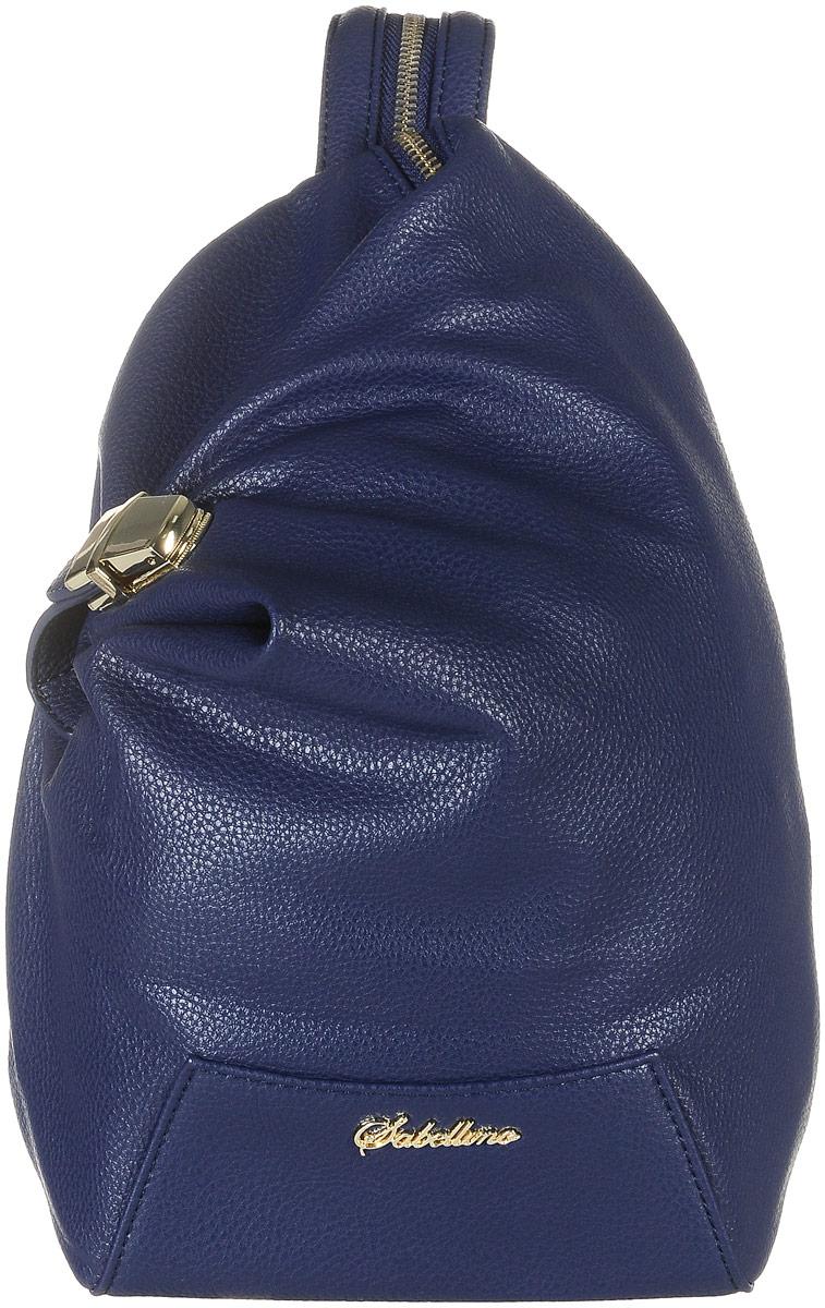 Рюкзак женский Sabellino, цвет: синий. 0111016700_510111016700_51Рюкзак женский Sabellino выполнен из мелкозернистой эко-кожи. Изделие закрывается на застежку-молнию и дополнительный замок. На лицевой стороне изделие дополнено металлической пластиной с названием бренда. Внутри - большое отделение, которое дополнено одним прорезным карманом на застежке- молнии. Снаружи, на задней стенке размещен прорезной карман на застежке- молнии. Изделие оснащено удобными плечевыми лямками, которые регулируются по длине и при помощи молнии застегиваются в одну лямку. В этом сезоне этот модный аксессуар поможет вам быть в тренде!