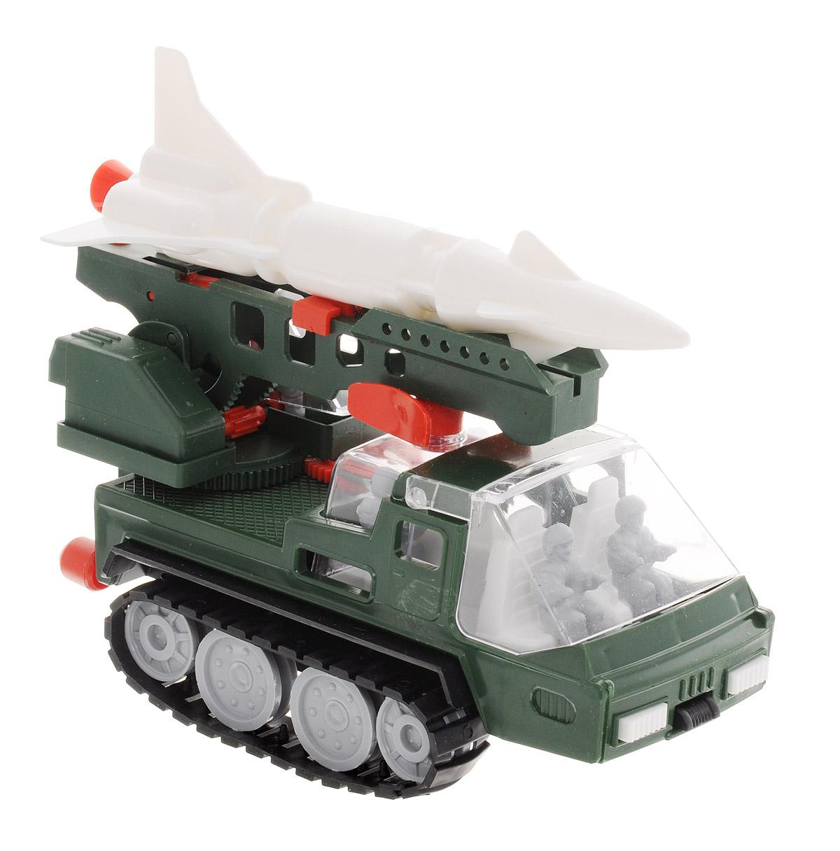 Форма Ракетовоз АрктикаС-22-ФРакетовоз Арктика от компании Форма - это замечательная игрушка для маленьких любителей машинок. Игрушка представляет собой ракетную установку с пятью фигурками на гусеничном ходу. Гусеницы свободно вращаются. Стрела ракетовоза поворачивается и поднимается. Стрела имеет пусковой механизм на пружине, с помощью которого можно запускать ракету (в комплекте). Стекло кабины ракетовоза и башни поднимается. Машинка подойдет для сюжетно-ролевой игры. Такой машинкой можно играть как дома, так и на улице.
