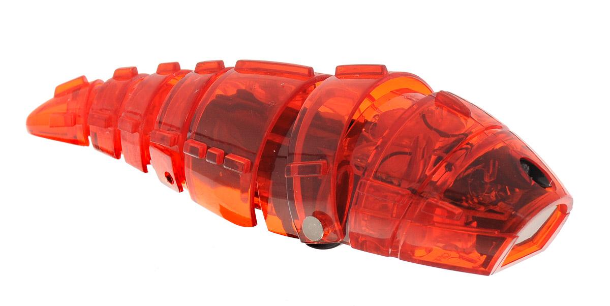 Pilotage Микро-робот Larva цвет красныйRC24871Микро-робот Pilotage Larva, управляемый с помощью инфракрасного датчика, за одну секунду может преодолевать большое расстояние! Ларва по своему внешнему виду напоминает личинку. Она очень плавно скользит по поверхности, при этом её хвост совершает движения из стороны в сторону. Благодаря инфракрасному датчику, расположенному в передней части корпуса, Ларва не сталкивается с препятствиями на своем пути, а избегает их. Если на ее пути встречается препятствие, Ларва плавно и грациозно развернется и быстро продолжит свой путь в другом направлении. Микро-робот работает от 3 батареек типа AG13 (входят в комплект).