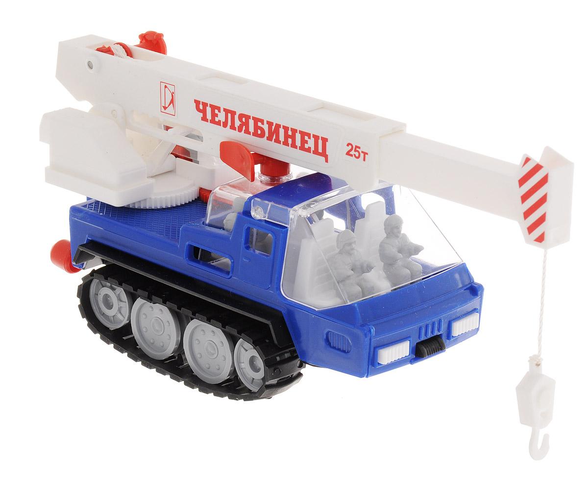 Форма Автокран АрктикаС-31-ФАвтокран на гусеничном ходу Арктика от компании Форма - это замечательная игрушка для маленьких любителей машинок. Игрушка представляет собой гусеничный автокран с пятью фигурками, приспособленный работать в самых трудных условиях Крайнего Севера. Стекло кабины машинки и башни крана поднимается. Гусеницы свободно вращаются. Стрела крана поворачивается, поднимается и выдвигается. Крюк может опускаться и подниматься с помощью лебедки. Кран имеет два уровня установки высоты, на которых его стрела прочно фиксируется. Машинка подойдет для сюжетно-ролевой игры. Такой машинкой можно играть как дома, так и на улице.