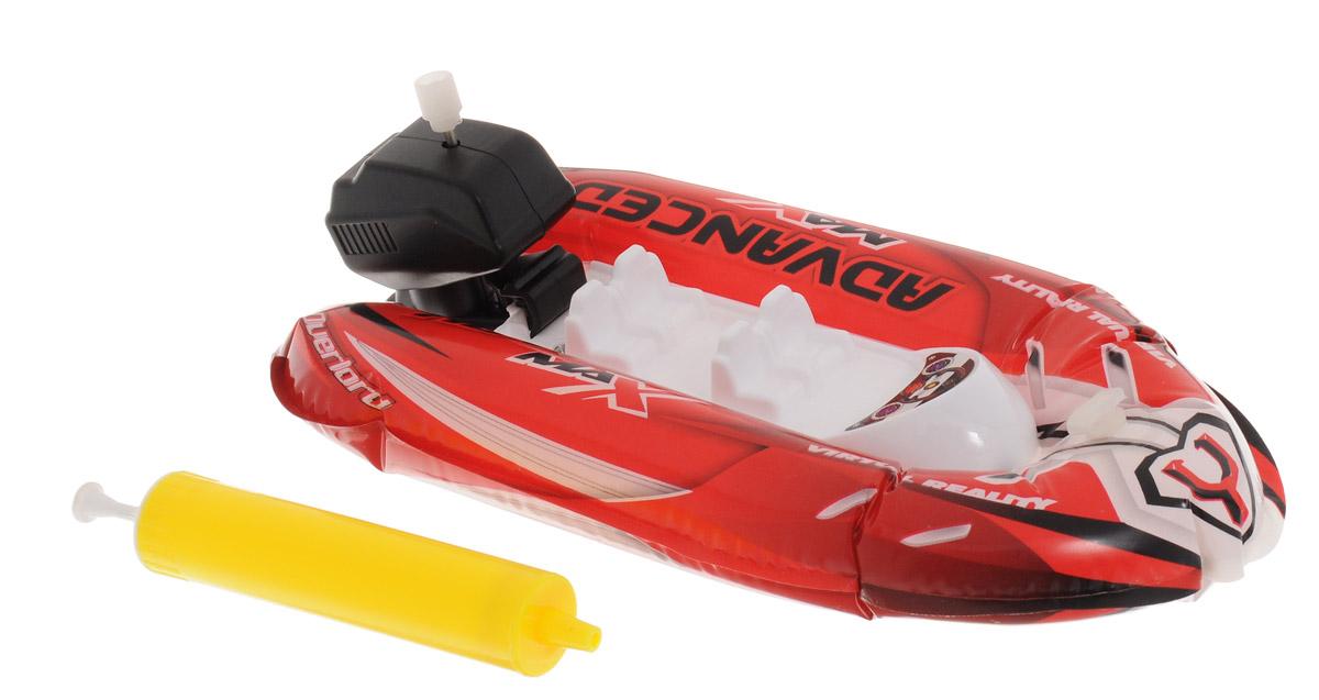 Pilotage Надувная лодка Fun Boat c насосом цвет красныйRC18324Миниатюрная надувная лодка Pilotage Fun Boat с подвесным мотором, предназначена для запуска в ванной, бассейне или небольшом водоеме. Корпус лодки выполнен из приятного на ощупь, прочного материала ПВХ и накачивается воздухом с помощью входящего в комплект насоса - все, как в реальной жизни. После надувания корпуса достаточно завести навесной мотор, и лодка поплывет. Эта надувная лодочка скрасит ваше времяпрепровождение в жаркий день у воды, а если рядом имеется ручеек, вы сможете устроить азартные гонки!