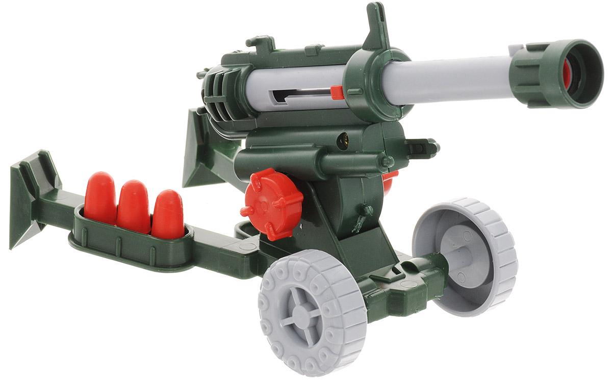 Форма ПушкаС-33-ФПушка от компании Форма - это отличное боевое орудие для сюжетно-ролевой игры. Наклон ствола пушки регулируется, колеса свободно вращаются. Пушка оснащена пружинным механизмом, который запускает снаряды. В комплекте с пушкой идут 7 легких пластиковых снарядов. Благодаря такой артподдержке можно смело штурмовать самые защищенные крепости и бастионы. Эта замечательная пушка станет хорошим подарком для мальчика!