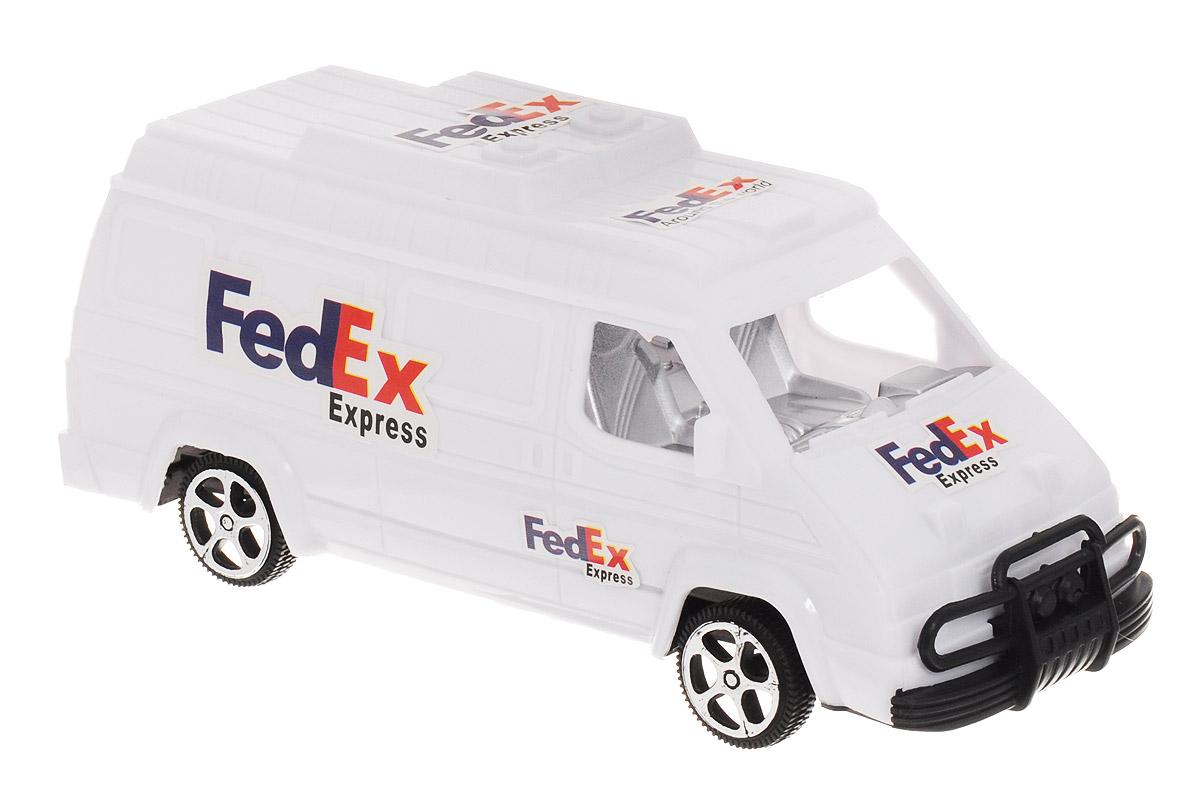 Junfa Toys Машинка инерционная FedEx Express
