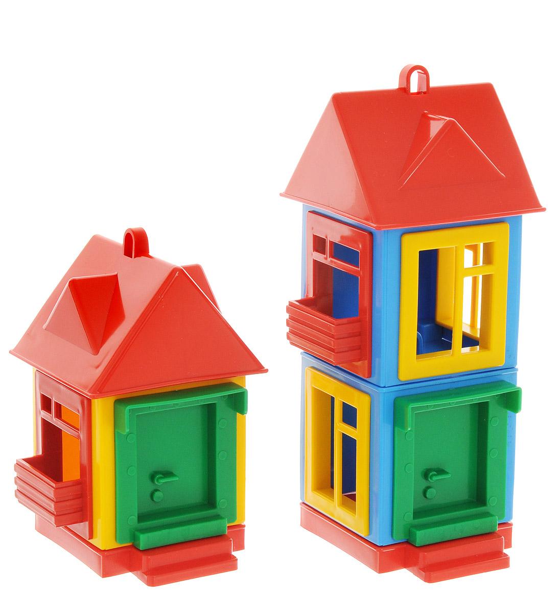 Форма Развивающая игрушка Панельный дом мультицветС-164-ФРазвивающая игрушка Форма Панельный дом - замечательный набор для сборки яркого домика. Домик можно собирать и разбирать, расставлять окна и двери по своему усмотрению. На крыше домика имеется специальная петля, за которую может цепляться кран из серии Детский сад, он приобретается отдельно. С такой игрушкой ребенок почувствует себя настоящим инженером-строителем. Уважаемые клиенты! Обращаем ваше внимание, что цвета домиков могут меняться ,в зависимости от прихода товара на склад.