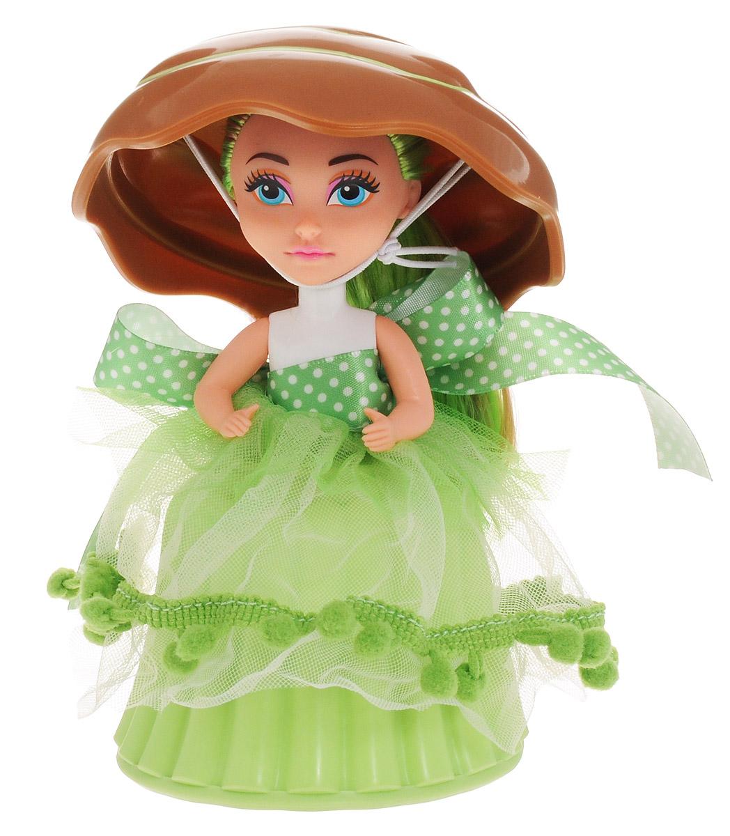 ABtoys Мини-кукла Сладкий сюрприз цвет коричневый салатовый