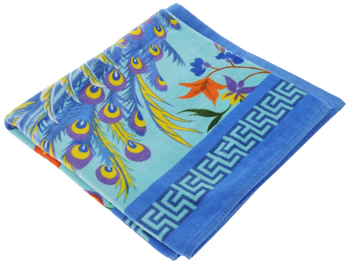 Полотенце Soavita Premium. Птица, 70 х 140 см. 8743187431_синий, бирюзовыйМахровое полотенце Soavita Premium. Птица выполнено из 100% хлопка и декорировано оригинальным рисунком. Изделие отлично впитывает влагу, быстро сохнет, сохраняет яркость цвета и не теряет форму даже после многократных стирок. Полотенце очень практично и неприхотливо в уходе. Оно создаст прекрасное настроение и украсит интерьер в ванной комнате.