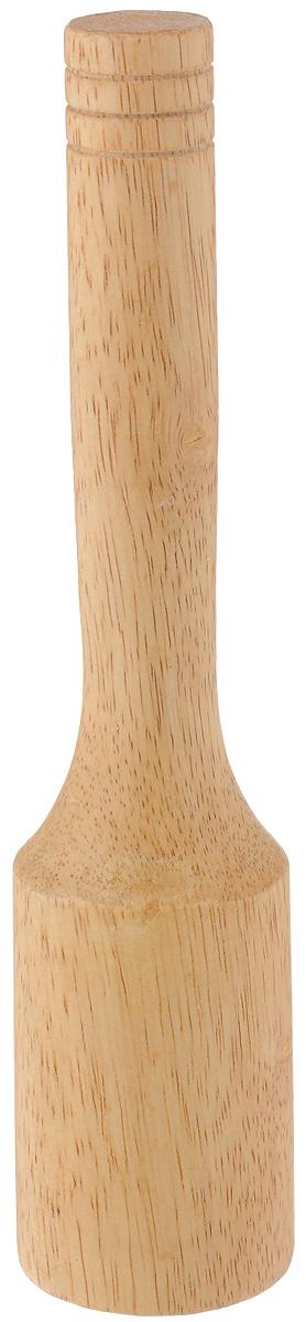 Толкушка LaSella, длина 23 смRH-19Толкушка LaSella изготовлена из каучукового дерева. Предназначена для измельчения картофеля и других мягких вареных овощей. Аксессуар, который необходим на каждой кухне. Такая толкушка станет незаменимой помощницей в приготовлении овощного пюре. Длина толкушки: 23 см. Диаметр рабочей поверхности: 5 см.