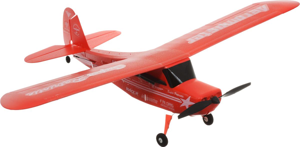 Pilotage Самолет на радиоуправлении Super Cub RTF цвет красныйRC15860Реалистичный самолет на радиоуправлении Pilotage Super Cub RTF специально спроектирован для полета на небольшом стадионе, теннисном корте или поляны в ближайшем парке. Модель управляется по трем каналам: контроль оборотов двигателя, руль направления и руль высоты. Самолет готов к полету прямо из коробки, и запускать его можно хоть целый день, пока не разрядятся батарейки в передатчике. Вес модели всего 45 грамм, а размах не более 54 сантиметров. Аккумулятор самолета заряжается от встроенного в передатчик зарядного устройства. Самолет может кутить изящные мертвые петли и грациозно выполнять горизонтальную восьмерку. Этот небольшой легкий и изящный самолет, великолепный выбор для начинающих пилотов и отличная забава для моделистов с опытом. Оставайтесь на высоте, маневрируйте, а если есть единомышленники и друзья - покупайте несколько самолетов, и устраивайте соревнования! Для работы пульта управления необходимо 4 батарейки типа АА (входят в...