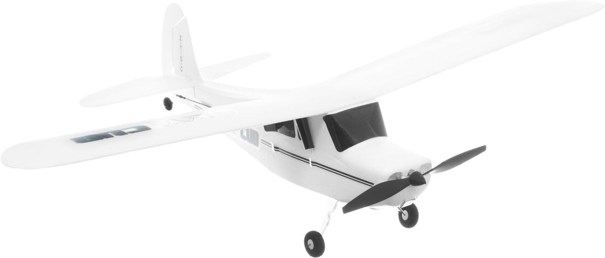 Pilotage Самолет на радиоуправлении Super Cub RTFRC15861Реалистичный самолет на радиоуправлении Pilotage Super Cub RTF специально спроектирован для полетов в зале или в полный штиль на улице. Модель управляется по трем каналам: контроль оборотов двигателя, руль направления и руль высоты. Самолет готов к полету прямо из коробки, и запускать его можно хоть целый день, пока не разрядятся батарейки в передатчике. Вес модели всего 45 грамм, а размах не более 54 сантиметров. Аккумулятор самолета заряжается от встроенного в передатчик зарядного устройства. Стильный самолет PilotageSuper Cub RTF очень устойчивый в полете и в умелых руках способен выполнять разнообразные пилотажные маневры. Оставайтесь на высоте, маневрируйте, а если есть единомышленники и друзья - покупайте несколько самолетов, и устраивайте соревнования! Для работы пульта управления необходимо 4 батарейки типа АА (входят в комплект).