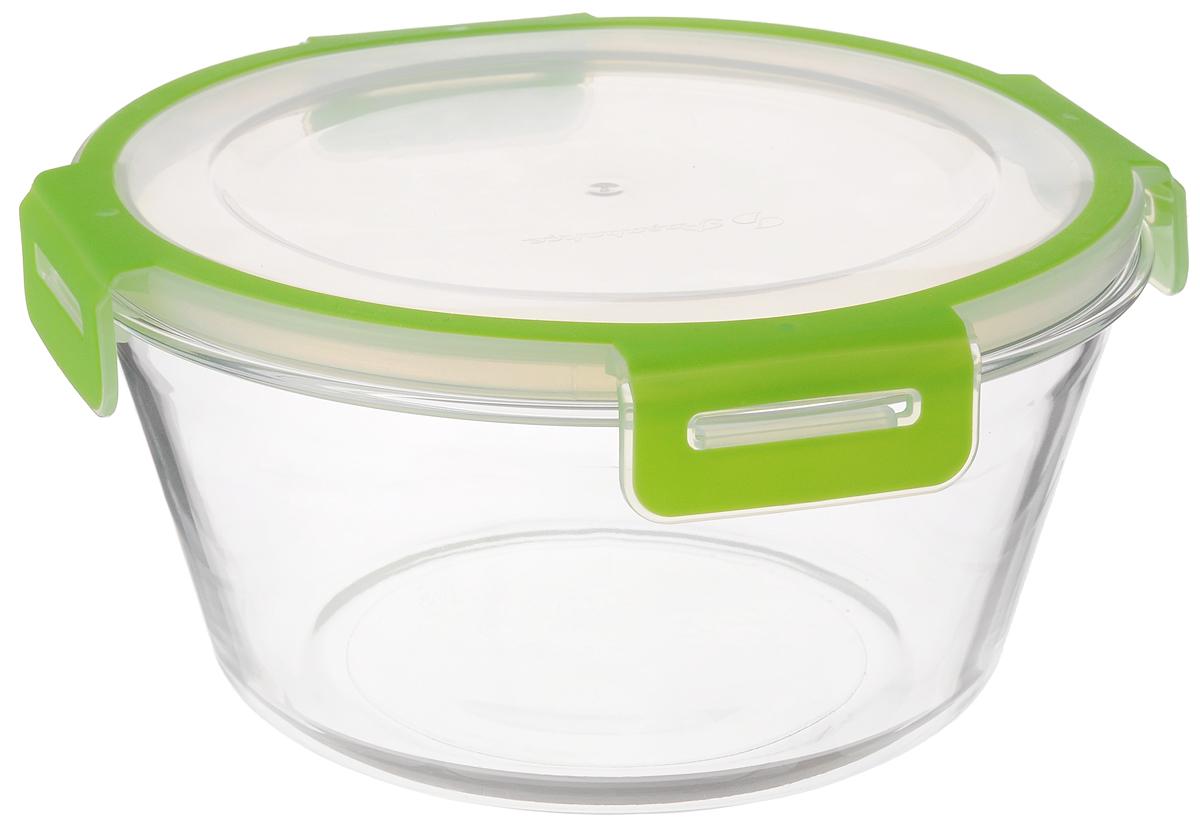 Контейнер для хранения продуктов Pasabahce Storemax, 2,22 л53542Контейнер для хранения продуктов Storemax выполнен из высококачественного натрий-кальций-силикатного стекла. Контейнер оснащен крышкой из пластика. Такой контейнер прекрасно подойдет для хранения ягод, овощей и многого другого. Оригинальный современный дизайн и функциональность сделают этот контейнер достойным дополнением к вашему кухонному инвентарю. Можно использовать в холодильной камере и в микроволновой печи. Можно мыть в посудомоечной машине. Диаметр контейнера (по верхнему краю): 20 см. Высота контейнера: 10 см.