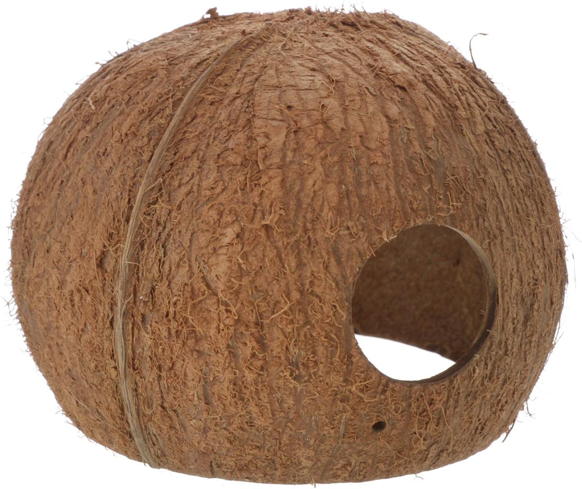Пещера декоративная для аквариума JBL Cocos Cava, из кожуры кокоса, 10 х 10 х 9 смJBL6151200Декоративная пещера JBL Cocos Cava - это идеальное место для нереста и укрытия рыб. Пещера станет оригинальным украшением для вашего аквариума. Обитатели террариума охотно используют эту натуральную пещеру в качестве места для сна и укрытия. Изделие изготовлено из натурального материала без ядовитых веществ. Размер кожуры: 10 х 10 х 9 см. Диаметр отверстия: 3,5 см.