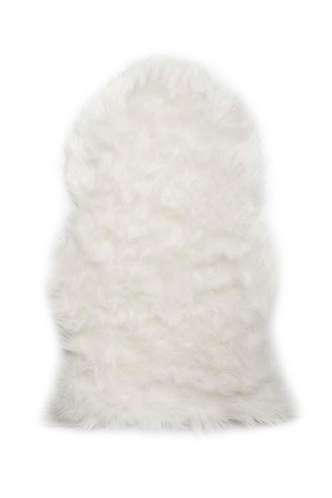 Шкура овечья Vortex, искусственная, 90х55 см, цвет: белый25000