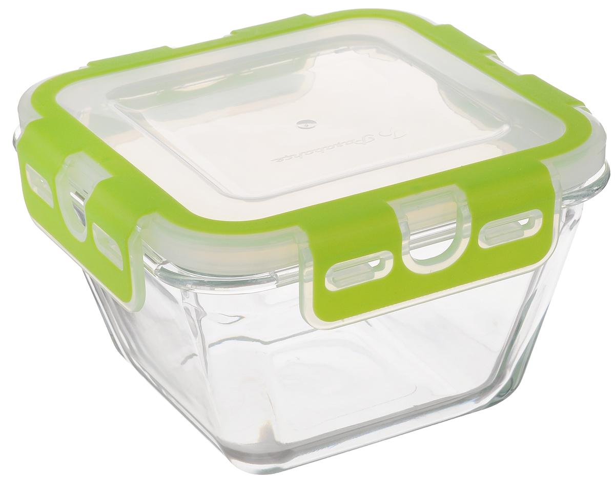 Контейнер для пищевых продуктов Pasabahce Storemax, 880 мл53522Контейнер Pasabahce Storemax, изготовленный из высококачественного стекла, предназначен для хранения любых пищевых продуктов. Крышка из пластика с резиновыми вставками герметично защелкивается специальным механизмом. Изделие устойчиво к воздействию масел и жиров, легко моется. Прозрачные стенки позволяют видеть содержимое. Контейнер имеет возможность хранения продуктов глубокой заморозки, обладает высокой прочностью. Контейнер Pasabahce Storemax удобен для ежедневного использования в быту. Можно мыть в посудомоечной машине и использовать в СВЧ. Размер контейнера (по верхнему краю): 14,5 х 14,5 см. Высота контейнера (без учета крышки): 8 см.