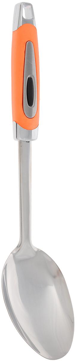 Ложка кулинарная Gotoff, длина 31,5 смJH-HP01203Кулинарная ложка Gotoff изготовлена из высококачественной нержавеющей стали и пластика. Удобная рукоятка оснащена прорезиненной вставкой и отверстием для подвешивания. Практичная и удобная ложка займет достойное место среди ваших кухонных принадлежностей. Длина ложки: 31,5 см. Размер рабочей части ложки: 10,5 х 7 см.