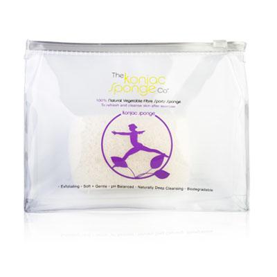 The Konjac Sponge Co Спонж для мытья тела Sports Konjac Sponge Lilac890081Полностью натуральный спонж из растительной клетчатки для мытья тела. Не содержит химикатов, красителей, аллергенов. На 100% биоразлагаемый. Используется во влажном состоянии. Размер – ок. 10 см (без учета упаковки).
