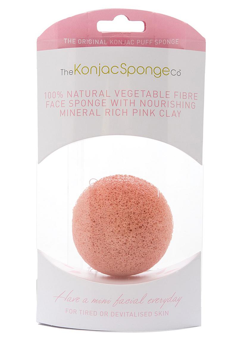 The Konjac Sponge Co Спонж для умывания лица Premium Facial Puff with Pink Clay801711Полностью натуральный спонж из растительной клетчатки для умывания лица (с добавлением французской розовой глины для ухода за чувствительной кожей). Не содержит химикатов, красителей, аллергенов. На 100% биоразлагаемый. Используется во влажном состоянии. Диаметр – ок. 8 см (без учета упаковки).