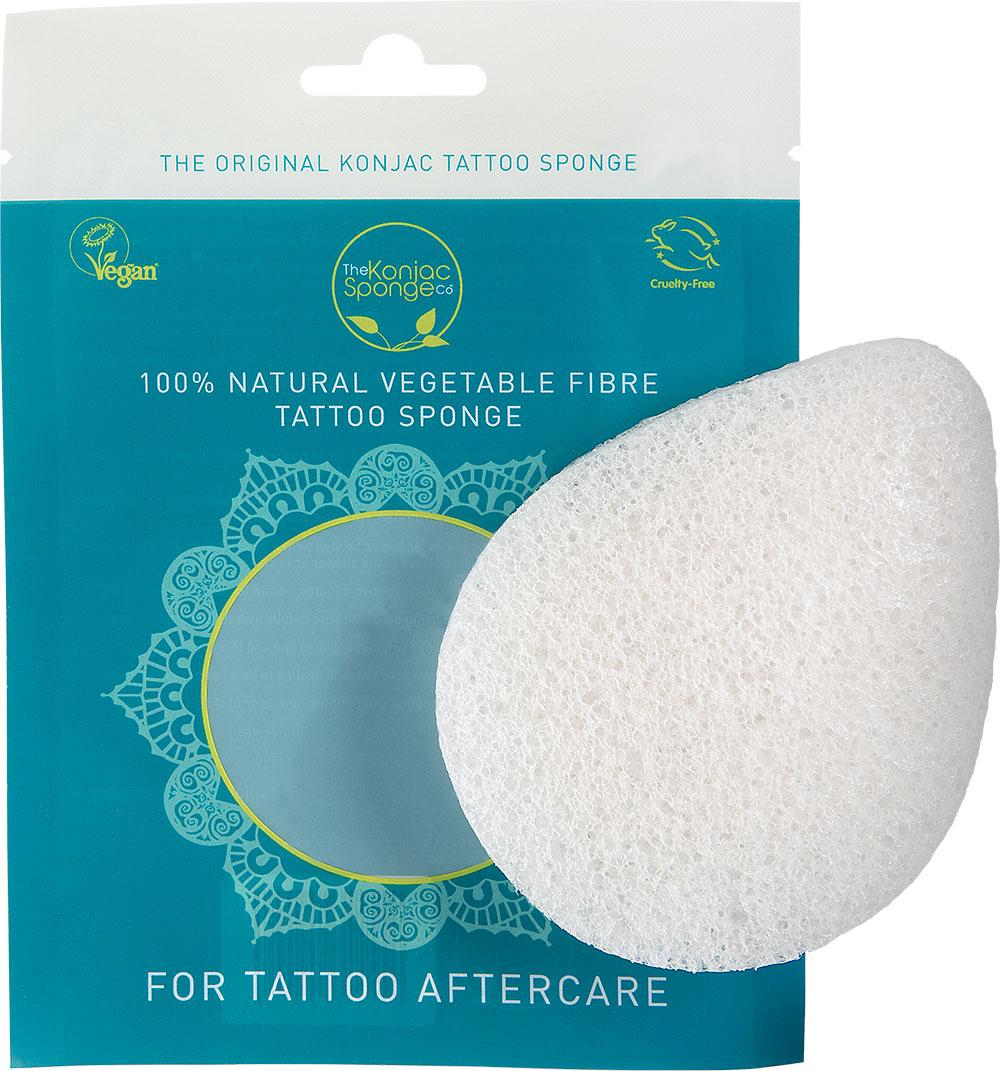 The Konjac Sponge Co Спонж для мытья тела The Tattoo Sponge802008Полностью натуральный спонж из растительной клетчатки для мытья тела. Не содержит химикатов, красителей, аллергенов. На 100% биоразлагаемый. Используется во влажном состоянии. Размер – ок. 11 см (без учета упаковки).