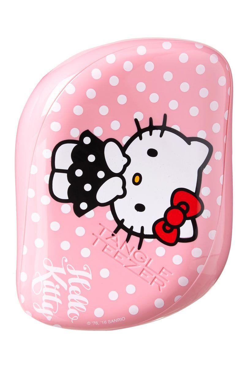 Tangle Teezer Black Compact Styler Hello Kitty Pink370657Tangle Teezer – оригинальная профессиональная расческа для расчесывания волос, которая позволит вам с легкостью всего за одну минуту без рывков и напряжения расчесать мокрые, уязвимые или окрашенные волосы не нарушая структуру волос и не причиняя себе дискомфорта.
