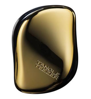 Tangle Teezer Расческа для волос Compact Styler Bronze Chrome004655Элегантная расческа Tangle Teezer Compact Styler - это профессиональный уход между делом. Расческа имеет удобный чехол и позволяет быстро распутать волосы, уложить их и придать прическе завершающий штрих. Двухуровневая система зубчиков позволяет одновременно расчесывать и приглаживать волосы, придавая им роскошный блеск. Вы сможете легко добавить объем своей прическе, волосы будут легкими и послушными. Есть пара секунд и расческа Tangle Teezer Compact Styler? Ваши волосы будут в порядке!