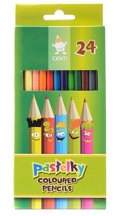 Цветные карандаши Koh-i-Noor, 24 цвета2144/24Цветные карандаши Koh-i-Noor непременно, понравятся вашему юному художнику. Набор включает в себя 24 ярких насыщенных цветных карандаша, которые идеально подходят для малышей. Шестигранный корпус изготовлен из натуральной древесины. Карандаши имеют прочный неломающийся грифель, не требующий сильного нажатия и легко затачиваются. Порадуйте своего ребенка таким восхитительным подарком!