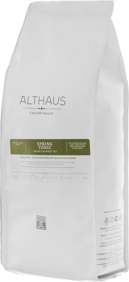 Althaus Spring Tonic зеленый листовой чай, 250 гTALTHL-L00121Althaus Spring Tonic — удивительное сочетание японской крупнолистовой Сенчи с цедрой лимона, эфирным маслом цитрусовых и цветами календулы. Наряду со многими другими пряностями цедра цитрусовых плодов использовалась для ароматизации чая еще в Древнем Китае. Лимонная цедра придает напитку изысканный аромат, а не пронзительно кислый вкус лимонной мякоти, так как в ней не содержится лимонная кислота. Althaus Spring Tonic дает кристально чистый настой с ярким и глубоким, но в то же время очень легким букетом. В нем переплетаются прозрачные лимонные оттенки и душистые цветочные ноты. Тонкий лимонный вкус подчеркивает индивидуальность чая, по-новому раскрывая хвойно-зеленую терпкость классической Сенчи. Spring Tonic — очень освежающий и тонизирующий зеленый чай. Он прекрасно подходит для утреннего чаепития и для жаркой погоды. Оптимальная температура заваривания: 85°С. Температура воды: 75-85 °С Время заваривания: 2-3 мин ...
