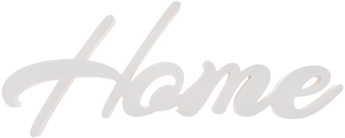 Табличка декоративная Magellanno Home1, цвет: белый, 47 х 16 смDEC004WДекоративная табличка Magellanno Home1, выполненная из фанеры, идеально подойдет к интерьерам в стиле лофт, прованс, шебби-шик, тем самым украсив любую комнату в вашем доме. Именно такие уютные и приятные мелочи позволяют называть пространство, ограниченное четырьмя стенами, домом. Размер таблички: 47 х 16 см. Толщина таблички: 1,8 см.