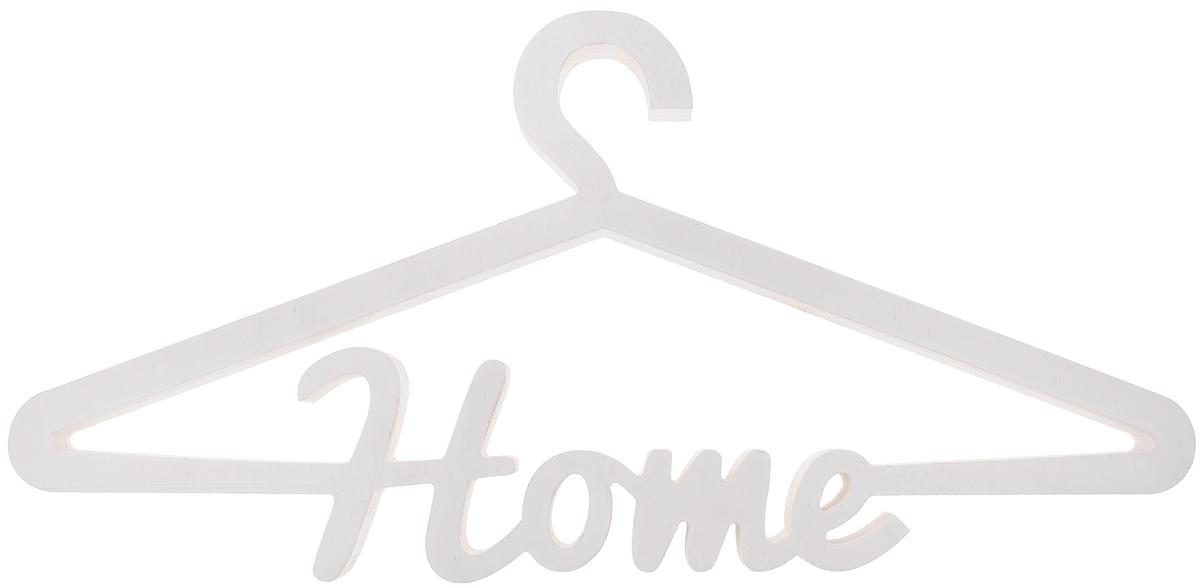 Вешалка для одежды Magellanno Home, декоративная, цвет: белый, 46 х 22 смDEC016WДекоративная вешалка для одежды Magellanno Home, выполненная из фанеры, идеально подойдет к интерьерам в стиле лофт, прованс, шебби-шик, тем самым украсив любую комнату в вашем доме. Именно такие уютные и приятные мелочи позволяют называть пространство, ограниченное четырьмя стенами, домом. Размер вешалки: 46 х 22 см. Толщина вешалки: 1,8 см.