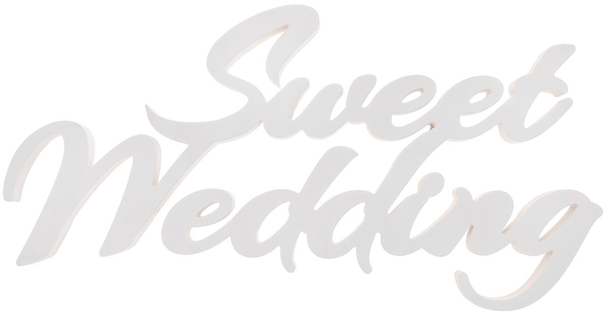Табличка декоративная Magellanno Sweet Wedding, цвет: белый, 58 х 31 смDEC014WДекоративная табличка Magellanno Sweet Wedding, выполненная из фанеры, идеально подойдет к интерьерам в стиле лофт, прованс, кантри, тем самым украсив любую комнату в вашем доме. А также табличка Оранжевый Слоник Sweet Wedding способна дополнить вашу фотосессию в день свадьбы, придав ей оригинальности и смысла. Размер таблички: 58 х 31 см. Толщина таблички: 1,8 см.