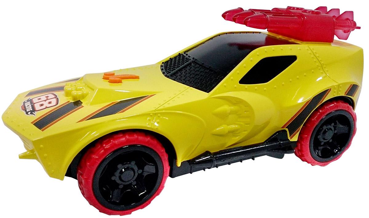 Hot Wheels Машинка Sting Rod IIHW91617Машинка Hot Wheels Sting Rod II - замечательный подарок для мальчика к любому празднику! У машины массивные мощные колеса и яркий, агрессивный дизайн с использованием желтого и красного цветов. Игрушка оснащена звуковыми и световыми эффектами, благодаря чему игра с ней становится еще более интересной и увлекательной! Машинка выполнена из высококачественных ударопрочных материалов, такая игрушка станет надежной и долговечной. Рекомендуется докупить 3 батарейки напряжением 1,5V типа AG13/LR44 (товар комплектуется демонстрационными).