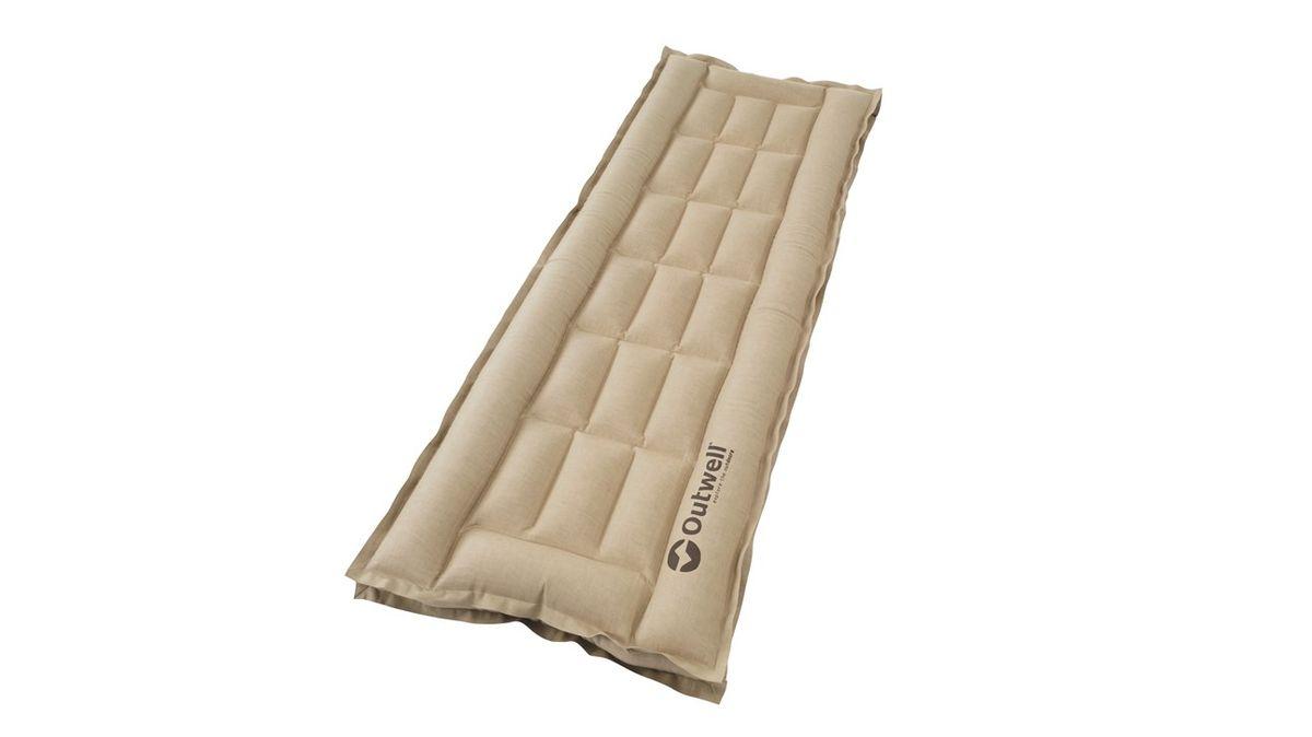"""Кровать надувная Outwell """"Airbed Box Single"""", цвет: серый, 195 х 65 х 10 см"""