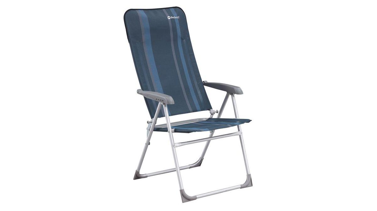 """Кресло складное Outwell """"Kenora"""", цвет: синий, 58 х 65 х 114 см"""