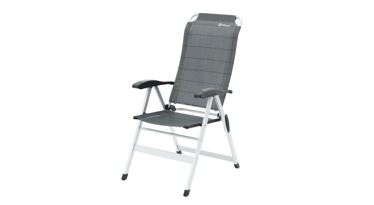 """Кресло складное Outwell """"Melville"""", цвет: серый, 58 х 80 х 118 см"""