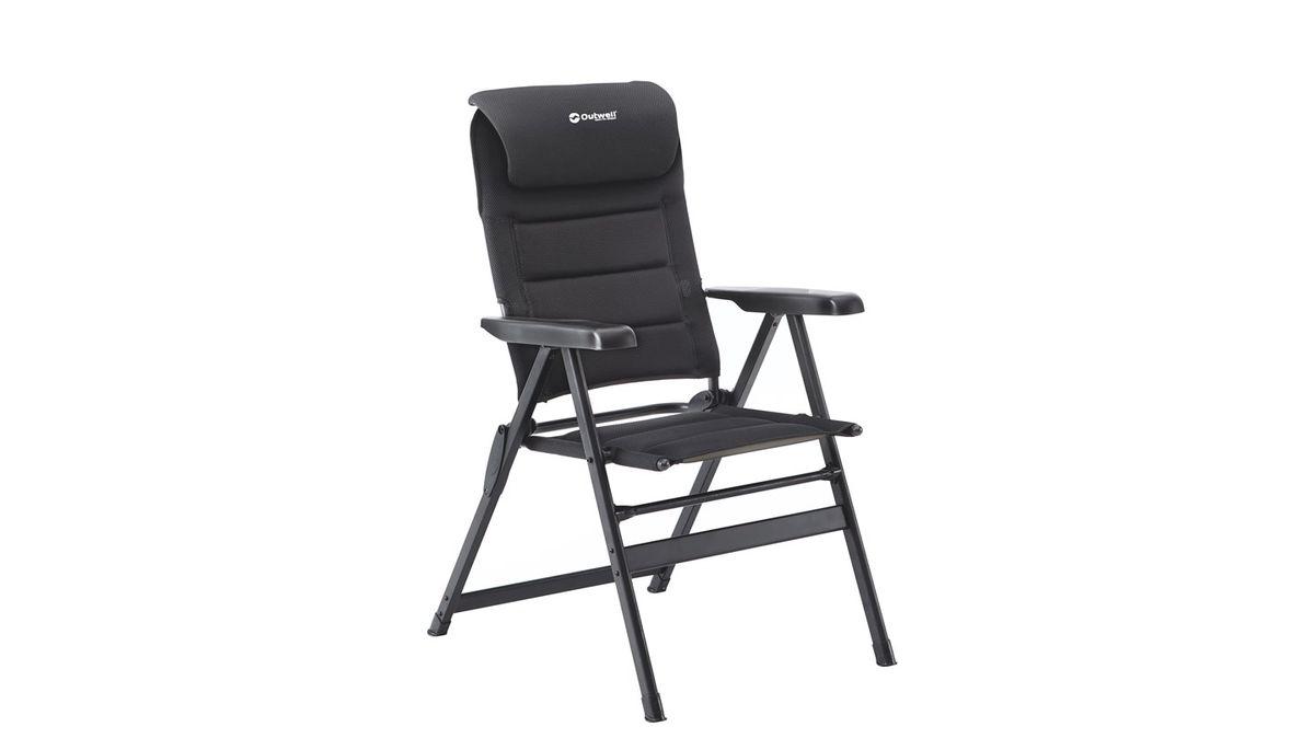 """Кресло складное Outwell """"Kenai"""", цвет: черный, 63 х 75 х 124 см"""