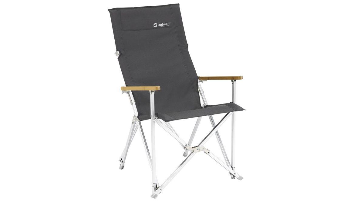"""Кресло складное Outwell """"Duncan"""", цвет: серый, 55 х 66 х 92 см"""