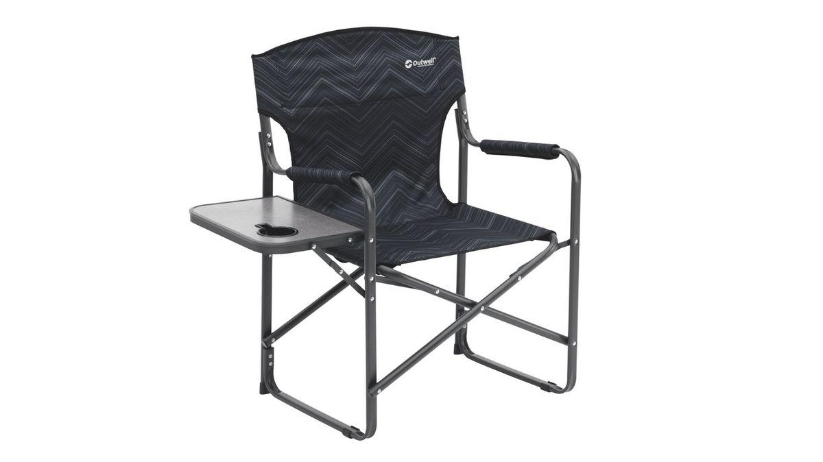 """Кресло складное Outwell """"Bredon Hills With Side Table"""", цвет: черный, 87 х 50 х 85 см"""