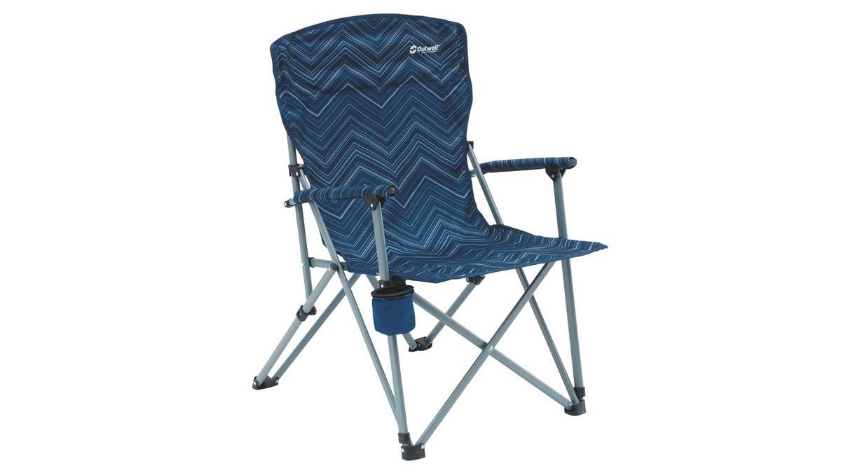 "Кресло складное Outwell ""Spring Hills"", цвет: синий, 65 х 70 х 937 см"