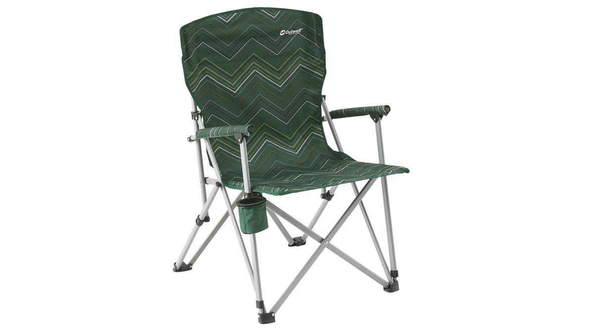 """Кресло складное Outwell """"Spring Hills"""", цвет: зеленый, 65 х 70 х 97 см"""