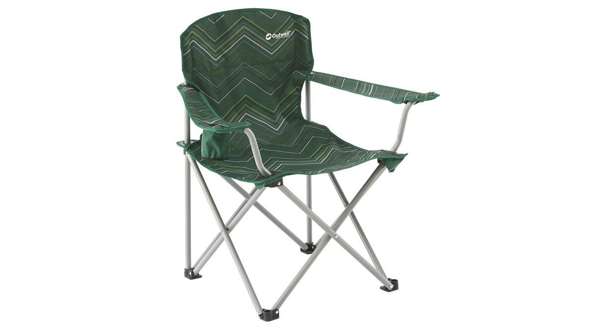 """Кресло складное Outwell """"Woodland Hills"""", цвет: зеленый, 80 х 55 х 82 см"""